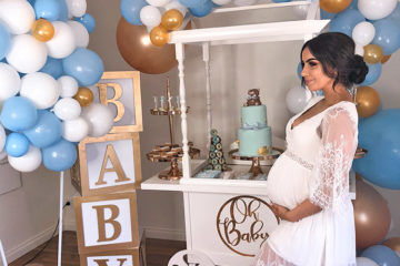 Bubbly baby shower