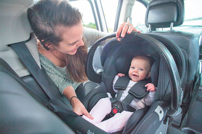 how to install a baby capsule in a car | Mum's Grapevine