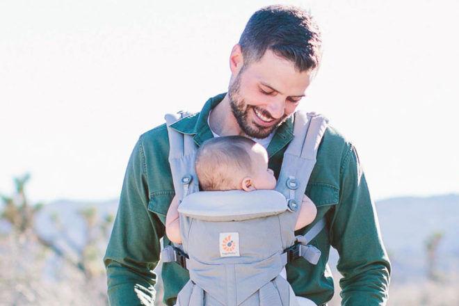 4 ways babywearing benefits dads and babies | Mum's Grapevine