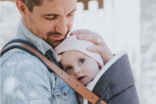 Budu, babywearing for dads