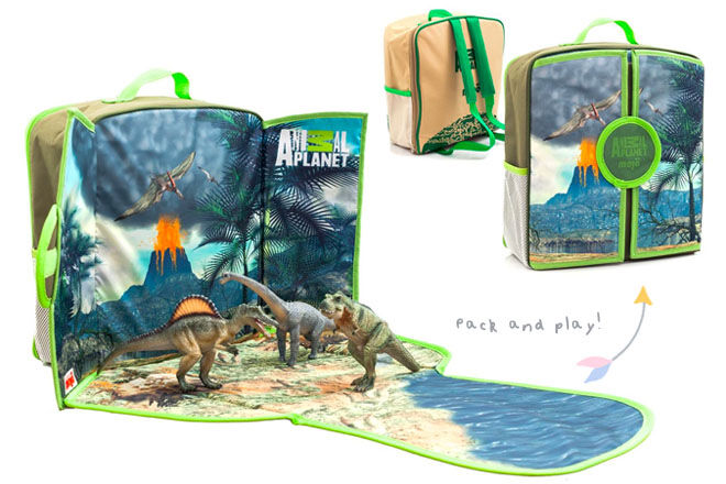 Dinosaur Playscape Backpack, Animal Planet