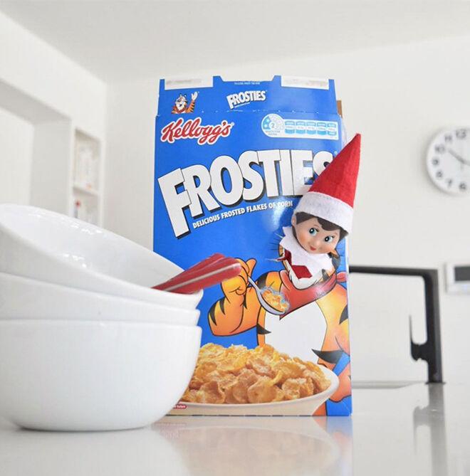 Elf on the Shelf breakfast ideas