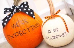 7 brilliant Halloween pregnancy announcements   Mum's Grapevine