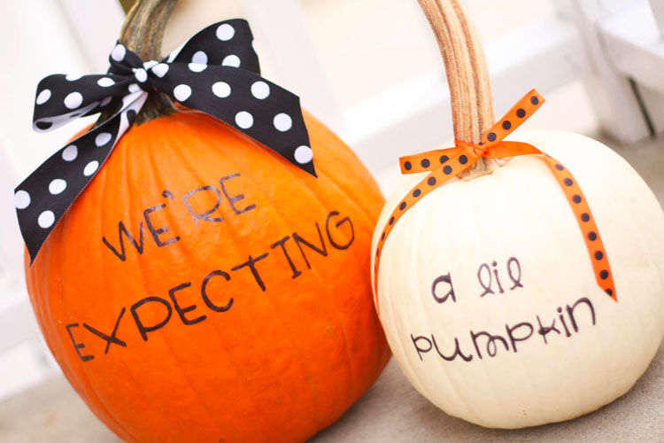 7 brilliant Halloween pregnancy announcements | Mum's Grapevine