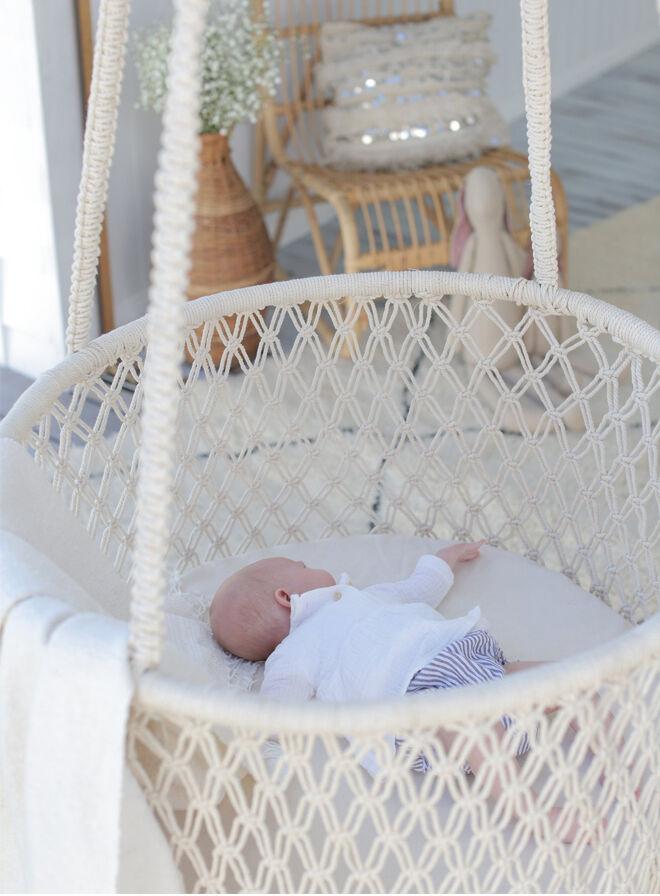 Sacred Bundle hanging bassinet