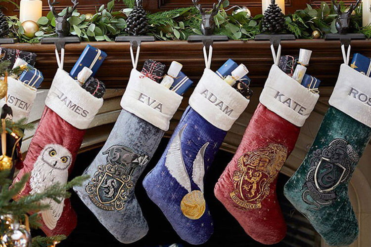 Harry Potter Christmas Stockings at Pottery Barn Kids