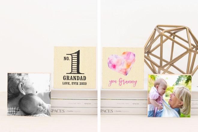 Grandparent photo blocks, Love JK