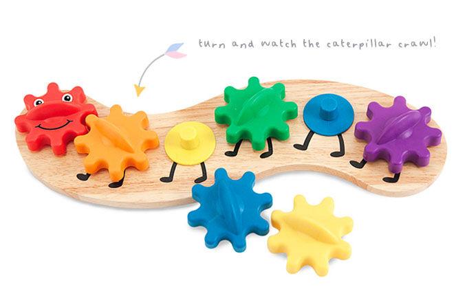 Caterpillar Gears puzzle, Melissa & Doug