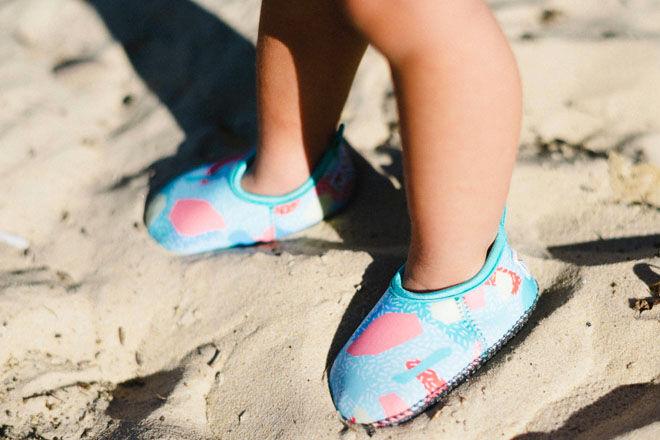 Minnow Designs beach shoes