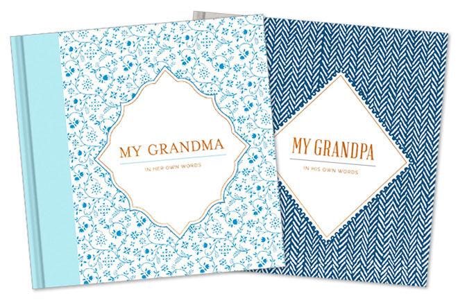 Grandma and grandad interview books