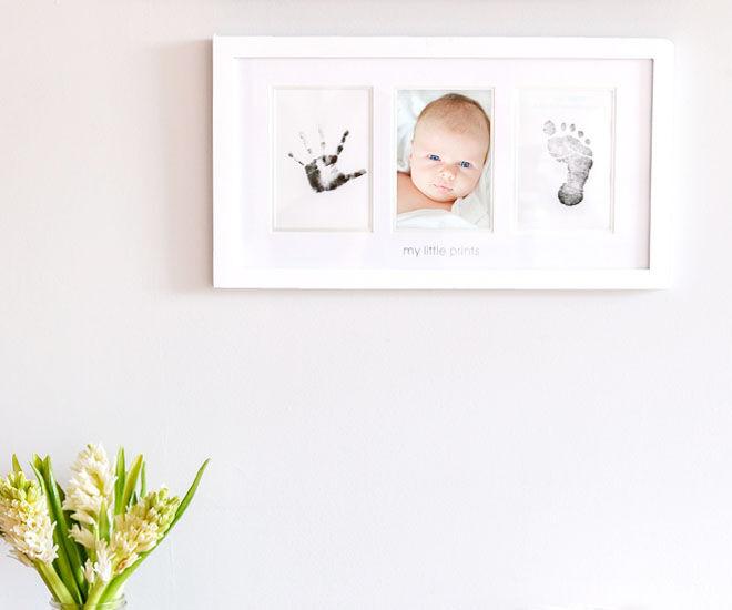 Pearhead baby handprint and footprint kit