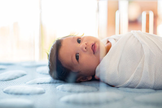 Pebble pure mattress for safe sleeping