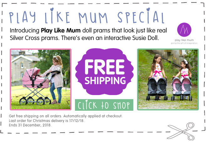 Play Like Mum Doll Pram Free Shipping Coupon