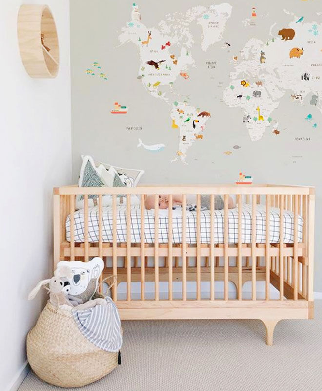 How to choose a mattress when setting up a baby's cot