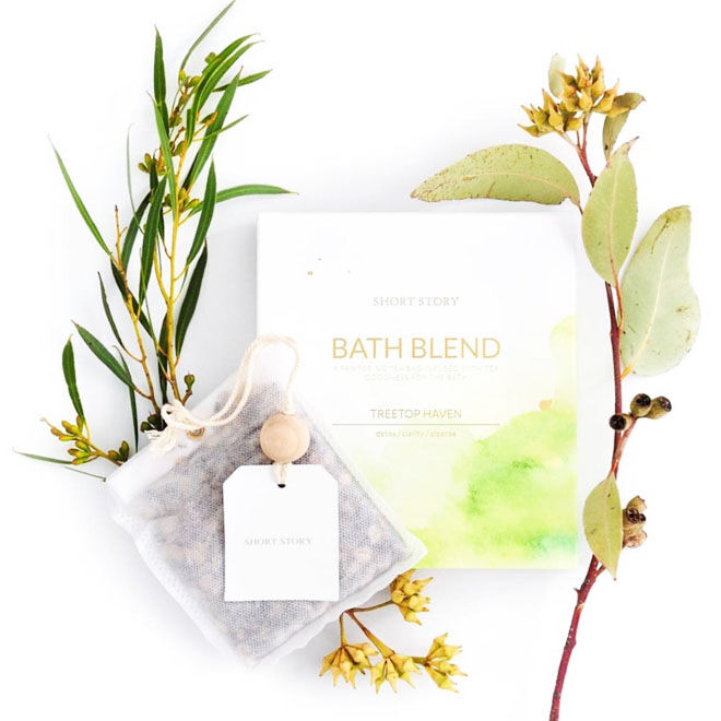 Short Story Bath Blend, Tree Top Heaven