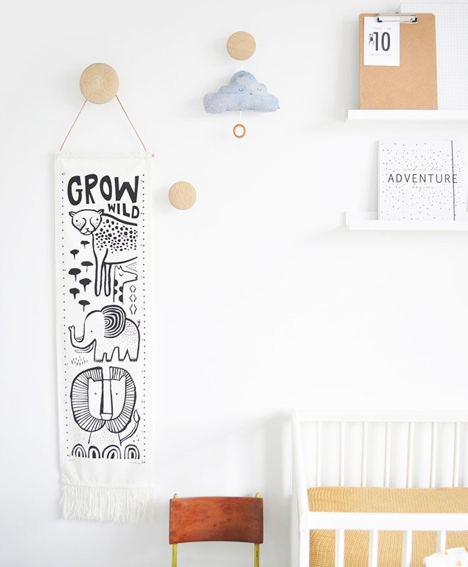 growth charts by Wee Gallery