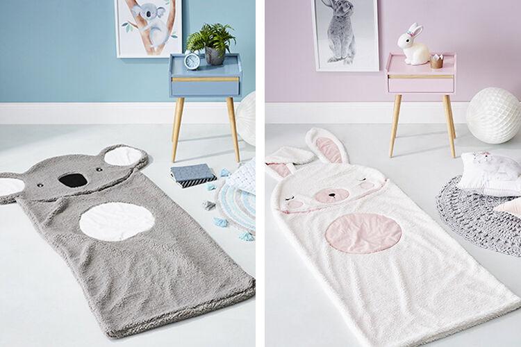 adairs sleeping bags