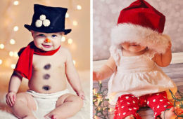 How to rock baby's first Christmas photo | Mum's Grapevine