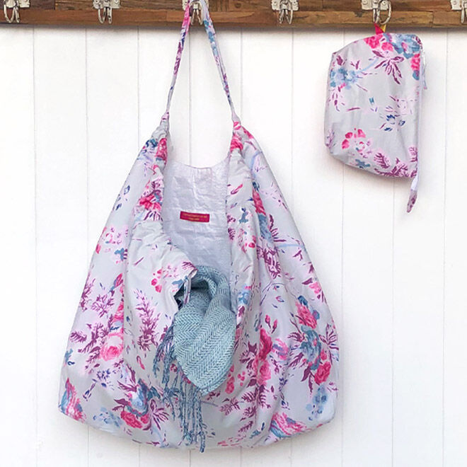 Carnival Homeware Sugar Pink Floral XXL Beach Bag
