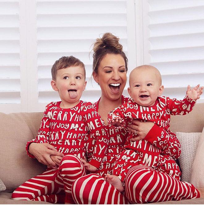 Christmas matching pjs