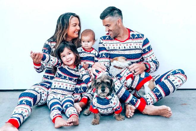 Cotton On Kids matching Christmas pjs