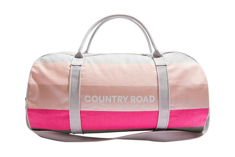 Country Road Block Logo Tote