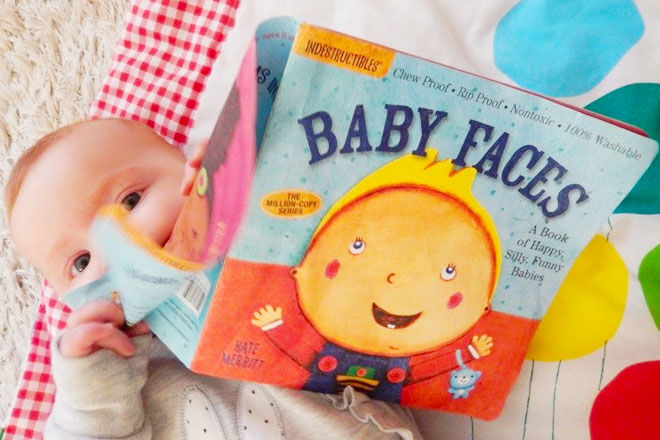 Indestructible Books for teething babies