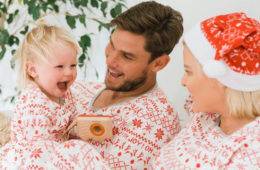 Cotton On Kids matching Christmas PJ's for the family