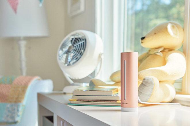 Netatmo nursery air quality monitor