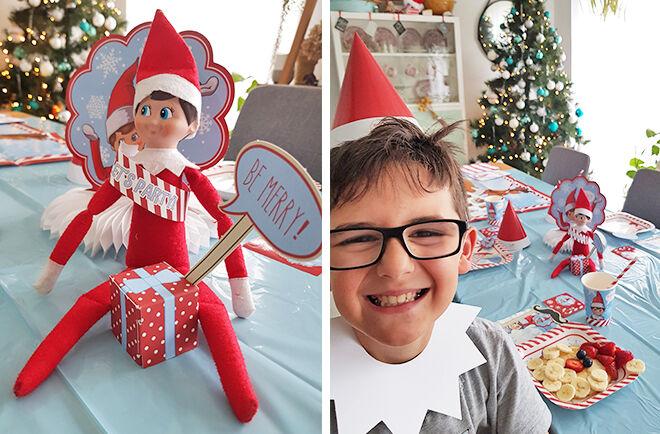 Elf on the Shelf North Pole breakfast