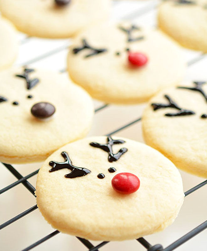 Easy reindeer Christmas cookies