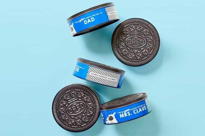 Personalised Oreo Tin