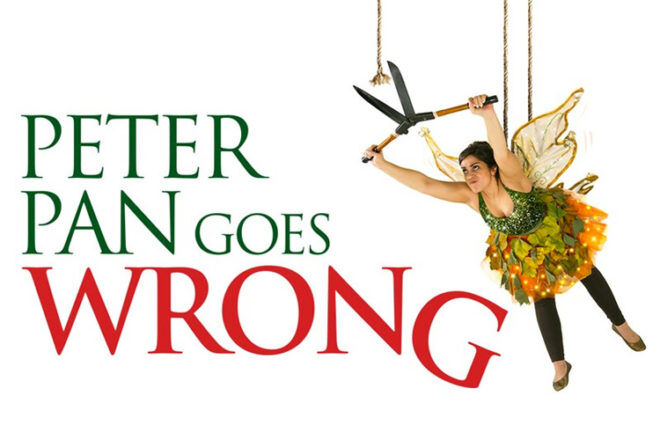 Peter Pan Goes Wrong competition