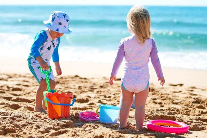 kids swimwear by Platypus Australia