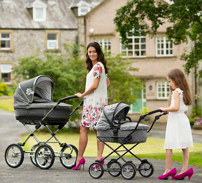 Silvercorss Sleepover Travel System Dolls Pram