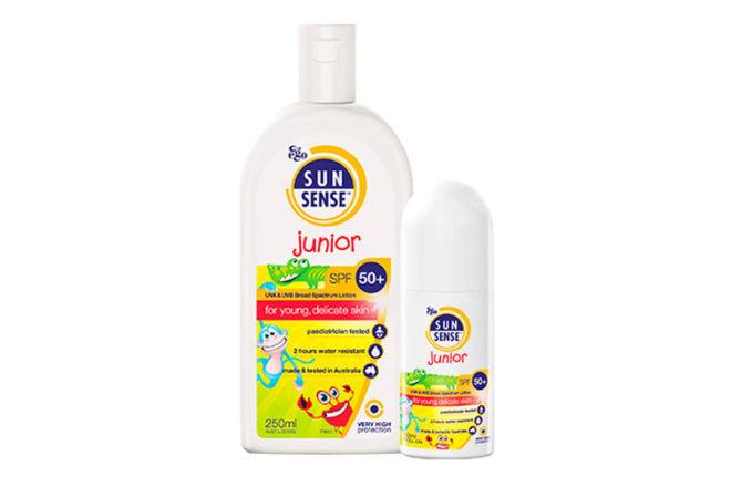 Sunsense junior sunscreen for babies and children
