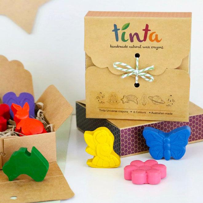 Tinta Crayons, fun natural crayons for children