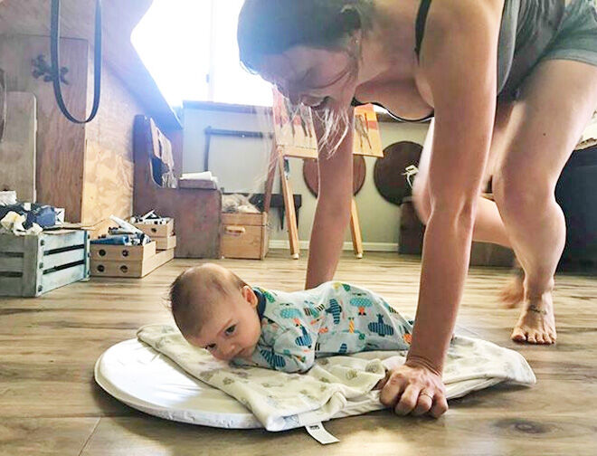 Tummy time tip