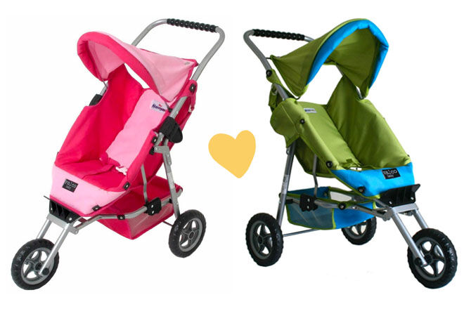 Valco Baby Just Like Mum marathon doll stroller