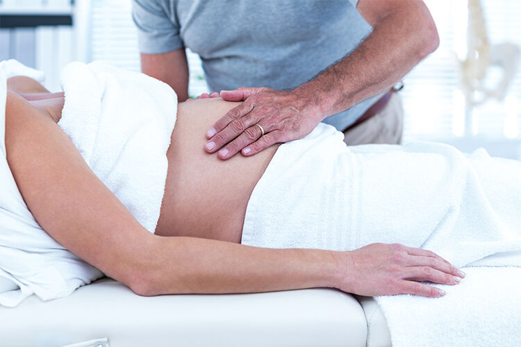 pregnancy pampering massage