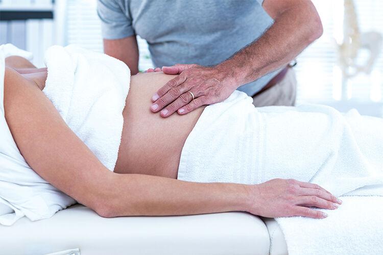 pregnancy pampering massage