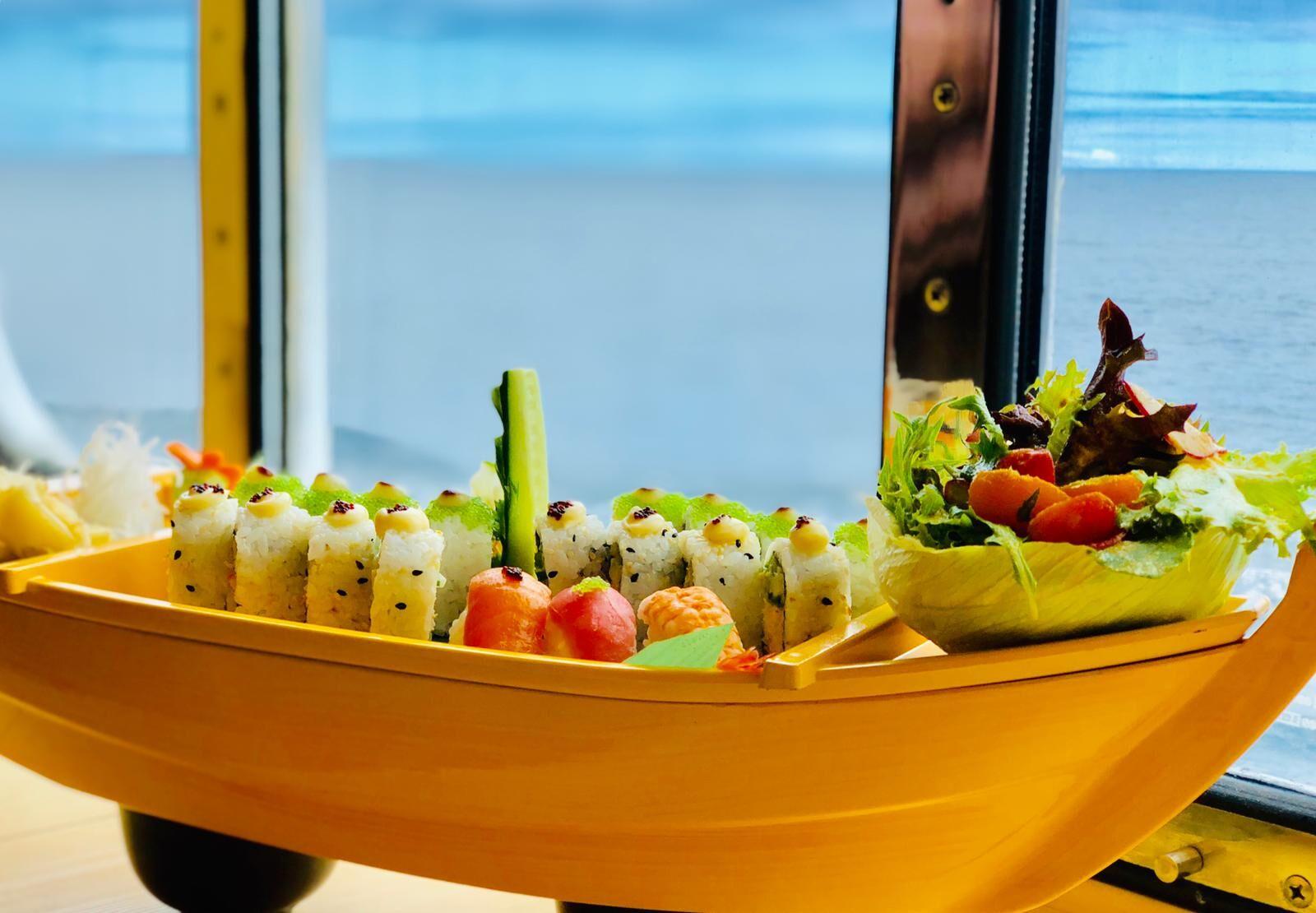 Carnival Legend Sushi Boat