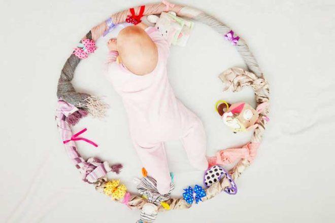 How to make a baby sensory hoop