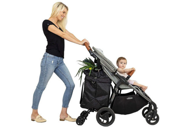 BuggyCart - the shopping basket that super-sizes your pram storage | Mum's Grapevine