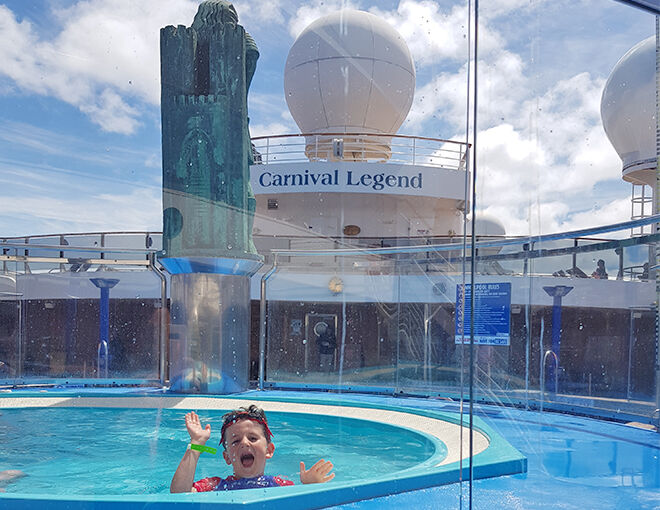 Carnival Legend pool review
