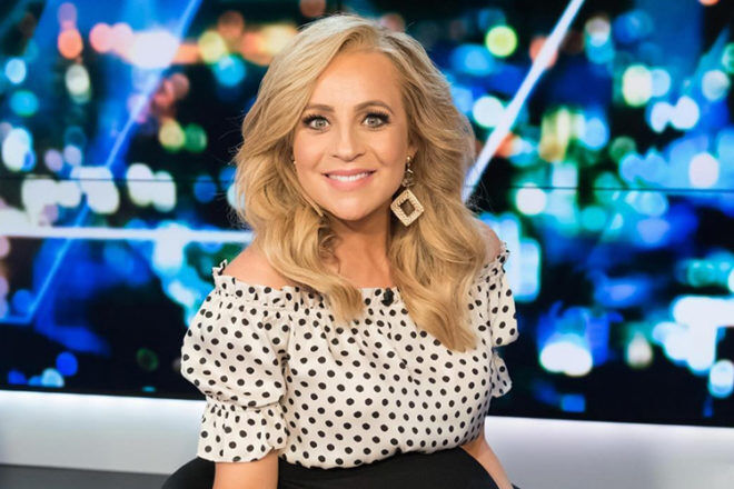 Carrie Bickmore baby number three