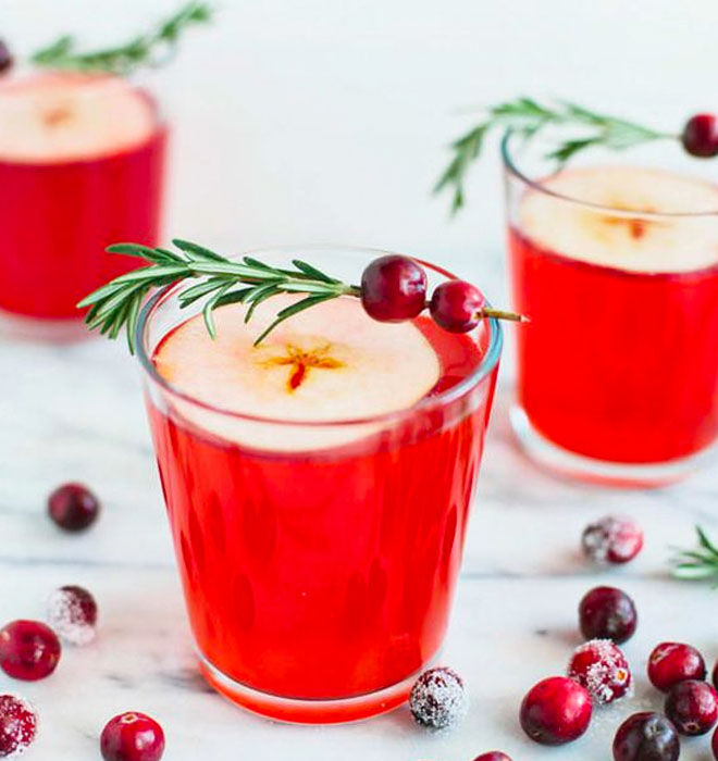 Cranberry apple cider punch recipe