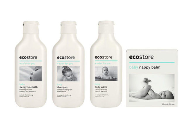 Ecostore natural baby products