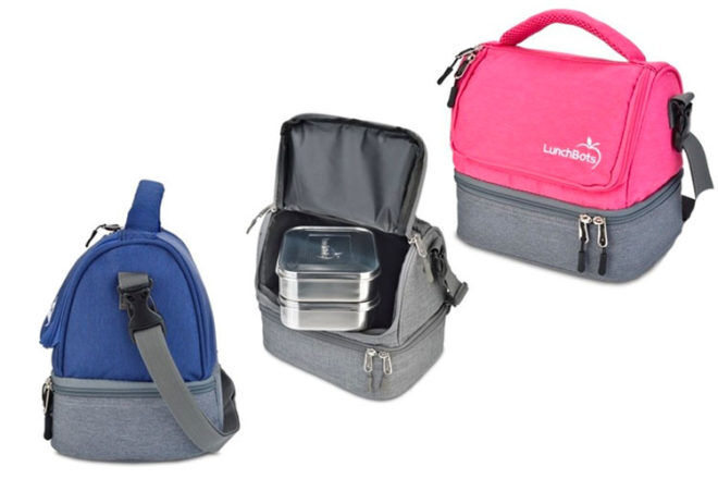 LunchBots Two Level Insulated Lunch Bags