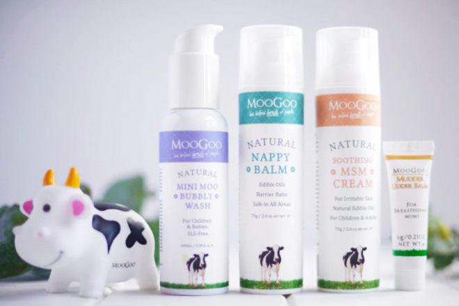 MooGoo natural baby skincare